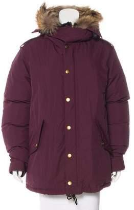 Burberry 2016 Fur-Trimmed Jacket