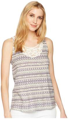 Woolrich Eco Rich Bell Canyon Printed Tank Top II Women's Sleeveless
