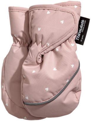 H&M Ski mittens - Pink