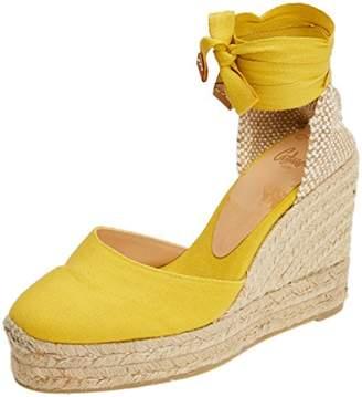 Castaner Carina8Ed001, Women's Espadrilles, Yellow (Light Yellow), (41 EU)