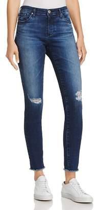 AG Jeans Ankle Denim Leggings in Indigo Shore