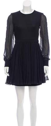Ungaro Silk Swiss Dot Dress w/ Tags