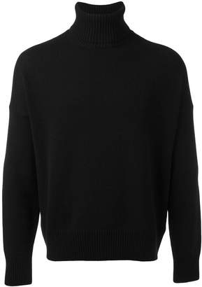 Ami Alexandre Mattiussi oversized turtleneck sweater