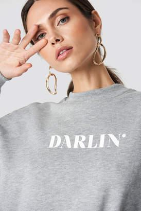 NA-KD Na Kd Darlin' Sweatshirt Black