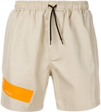 Raf Simons casual colour-block shorts