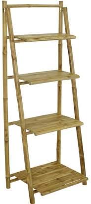 Bay Isle Home Major 4 Tier Ladder Bookcase