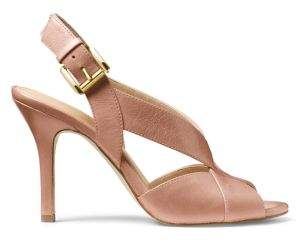 MICHAEL Michael Kors Becky Leather Slingback Pumps