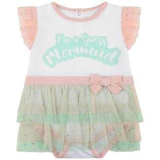 GUESS Girls White Mermaid Bodysuit
