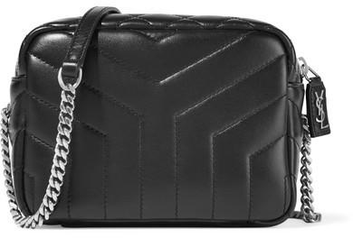 Saint LaurentSaint Laurent - Loulou Quilted Leather Shoulder Bag - Black
