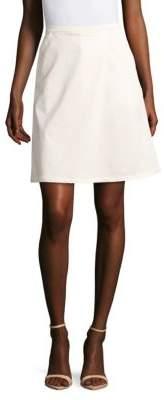 Max MaraAbazia Solid Side-Zip Skirt