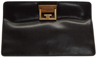 Givenchy Black GV3 Frame Clutch