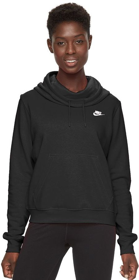 Women's Nike Rally Funnel Neck Hoodie