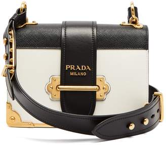 Prada Cahier leather cross-body bag
