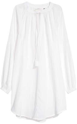 H&M Cotton Tunic - White