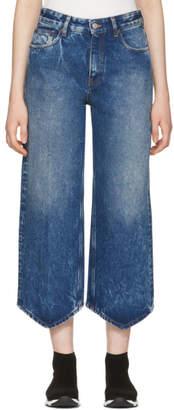 MM6 MAISON MARGIELA Blue Point Hem Jeans