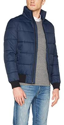 Tom Tailor Men's Puffer Jacket (Night Sky Blue 6576), XX (Size: )