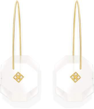 Yael Sonia Reverse Fit Large Octagonal Earrings
