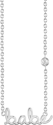 Sydney Evan Syd by Babe Diamond Pendant Necklace
