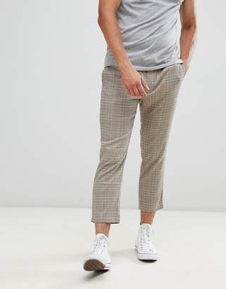 ONLY & SONS cropped check pants
