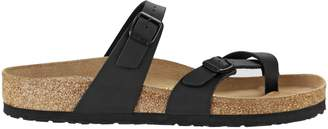 Birkenstock Women's Mayari Adjustable Toe Loop Cork Footbed Sandal Mocha 38 M EU