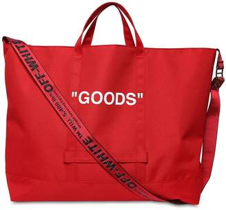 "Off-White Off White ""Goods"" Nylon Tote Bag"