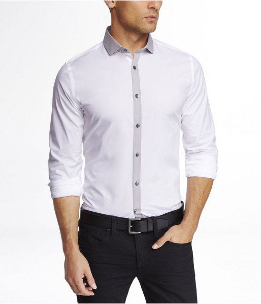 Express Limited Edition Fitted 1mx Shirt - Tonal Trim