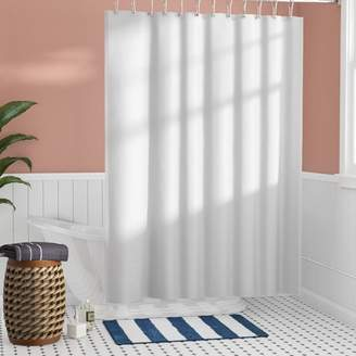 Beachcrest Home Santalaris Fabric Shower Curtain Liner