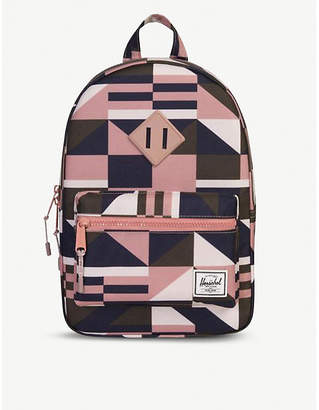 Herschel Heritage patterned canvas backpack