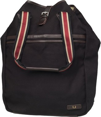 7ad52114f6f7 Fred Perry Mens Authentic Classic Canvas Mule Rucksack Black