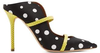 Malone Souliers By Roy Luwolt - X Emanuel Ungaro Maureen Polka Dot Pumps - Womens - Black Multi