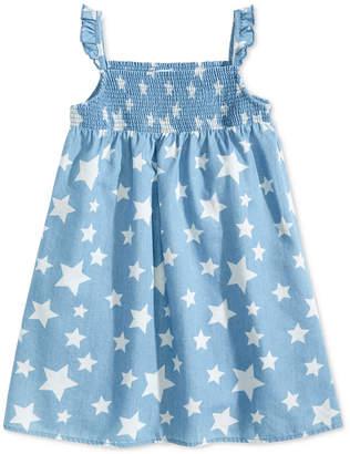 Epic Threads Little Girls Star-Print Dress, Created for Macy's