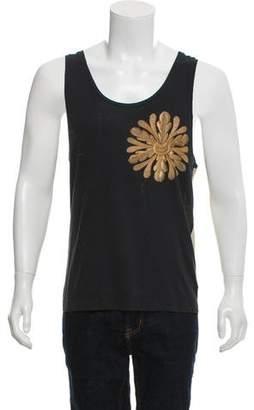 Dries Van Noten Knit Floral Tank