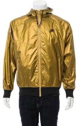 Nike Metallic Hooded Jacket