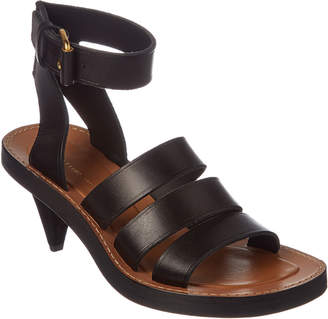 Celine Hiker Leather Sandal