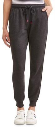 Ev1 From Ellen Degeneres EV1 from Ellen DeGeneres Side Stripe Jogger Sweatpant Women's (Black)
