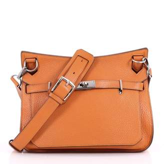 Hermes Jypsiere leather crossbody bag