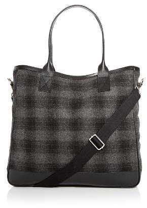 Bloomingdale's The Men's Store at Plaid Wool Tote - 100% Exclusive