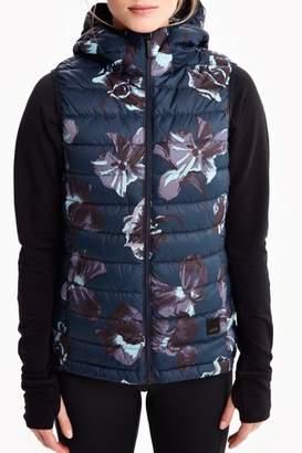 Lole Blue Floral Vest