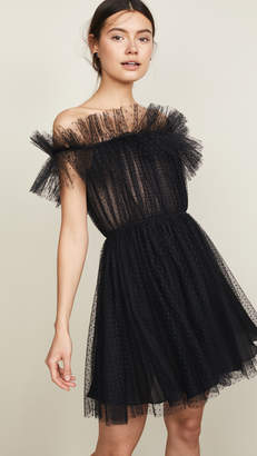 Giambattista Valli Off Shoulder Mini Dress