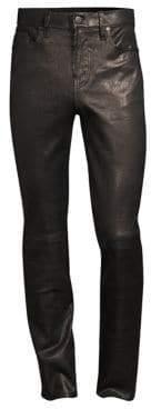 J Brand Mick Skinny-Fit Leather Pants