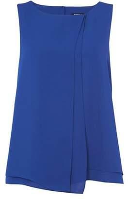 Dorothy Perkins Womens *Roman Originals Royal Blue Wrap Front Top