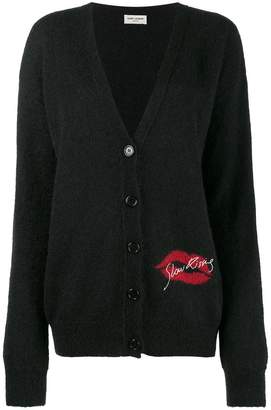 Saint Laurent Slow Kissing cardigan