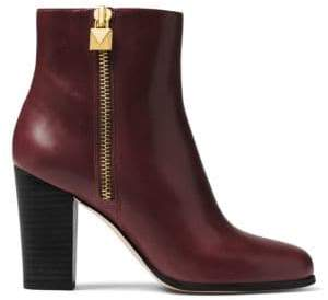 MICHAEL Michael Kors Margaret Leather Booties