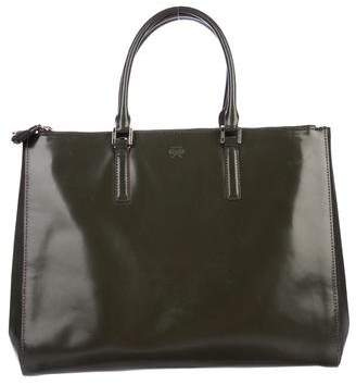 Anya Hindmarch Patent Leather Ebury Tote