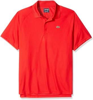 Lacoste Men's Sport Short Ultra Dry Raglan Sleeve Polo