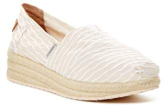Joy & Mario Crescent Bay Platform Espadrille Wedge