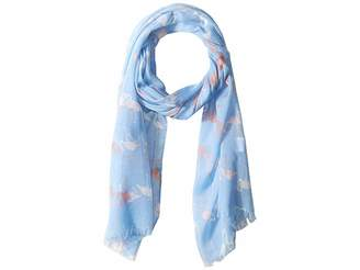 San Diego Hat Company BSS1816 - Woven Flamingo Scarf