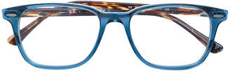 Ray-Ban contrast colour square frame glasses