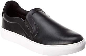 Versace Leather Slip On Sneaker