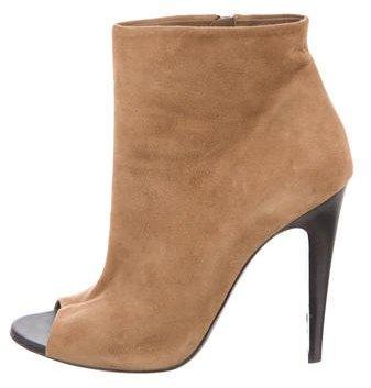 Bottega VenetaBottega Veneta Peep-Toe Ankle Boots